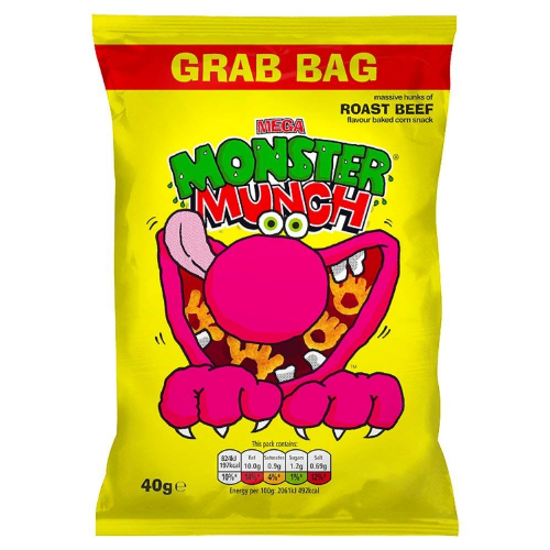 MONSTER MUNCH ROAST BEEF GRAB BAG